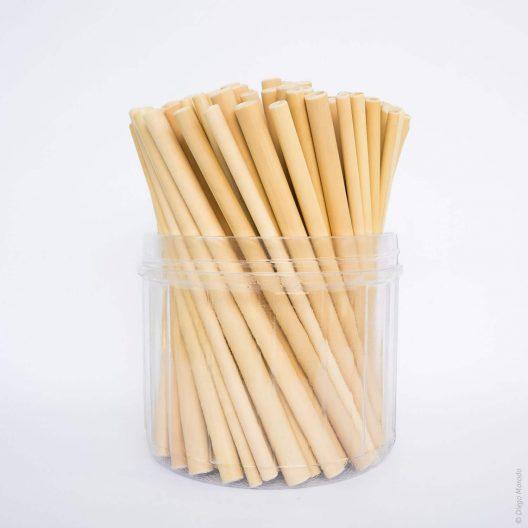 100 Bamboo Straws - By Bali Boo