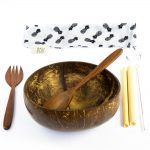 Bali Boo Coconut Bowl Set of 1