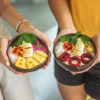 Coconut Bowls - DUO set - Bali Boo