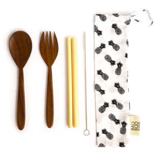 Bali Boo Cutlery Set
