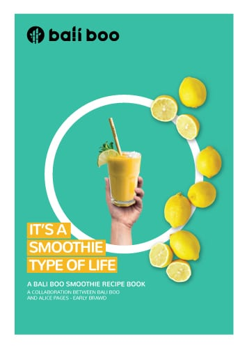 free smoothie recipe book cover
