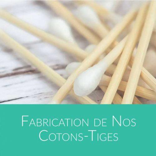 comment sont fabriqués les cotons-tiges en bambou par Bali Boo