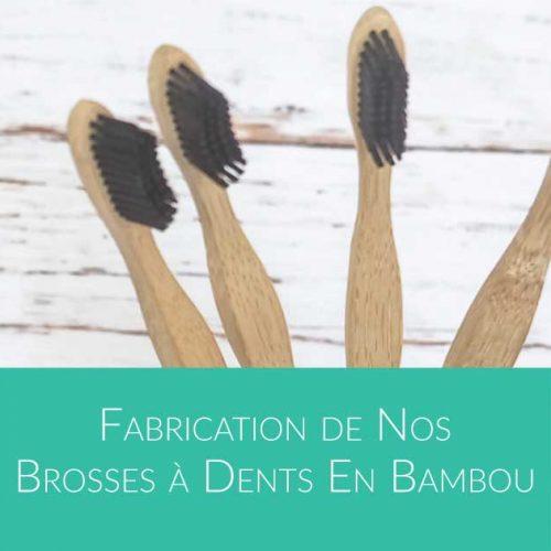 Comment sont fabriquées les brosses à dents en bambou - par Bali Boo