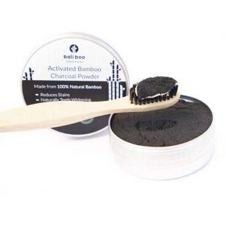 charbon de bambou activé pour le blanchiment des dents