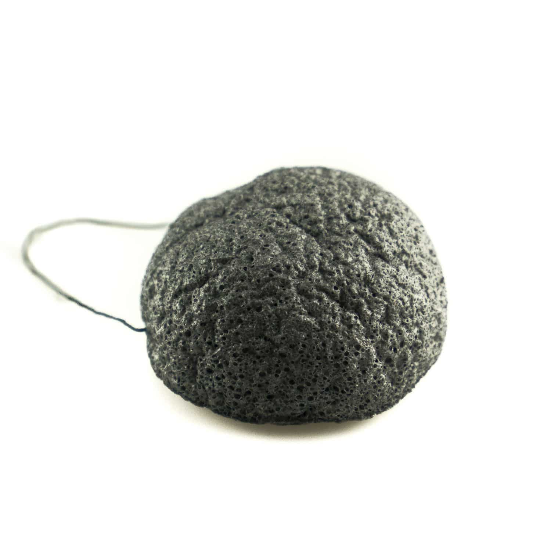 Konjac Sponge infused with Bamboo Charcoal